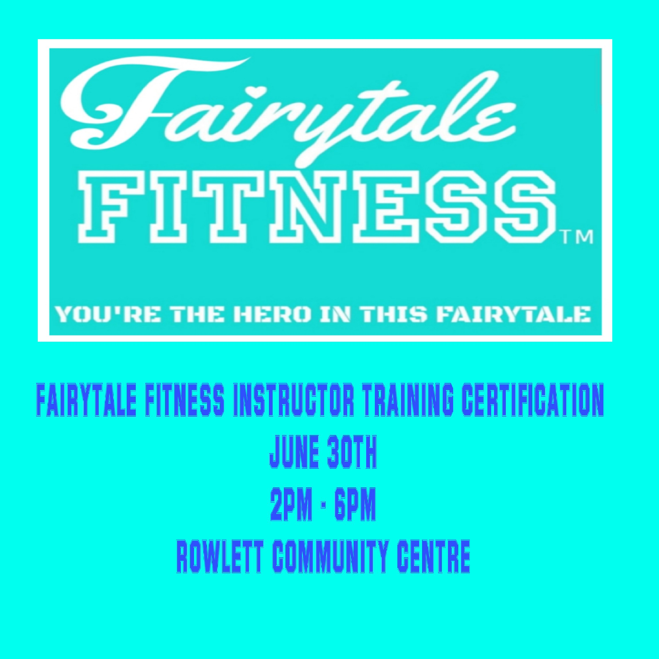 Fairytale Fitness Instructor Certification Training
